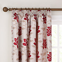 Buy John Lewis Lucia Lined Pencil Pleat Lined Curtains Online at johnlewis.com