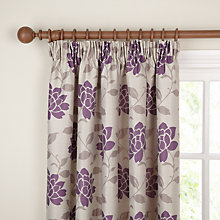 Buy John Lewis Lucia Pencil Pleat Lined Curtains Online at johnlewis.com