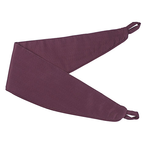 Buy John Lewis Polycotton Rib Tiebacks Online at johnlewis.com