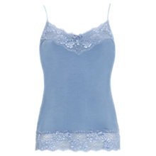 Buy Jigsaw Modal Long Lace Vest Online at johnlewis.com