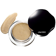 Buy Shiseido Shimmering Cream Eyecolor Online at johnlewis.com