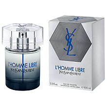 Buy Yves Saint Laurent L'Homme Libre Eau de Toilette Online at johnlewis.com