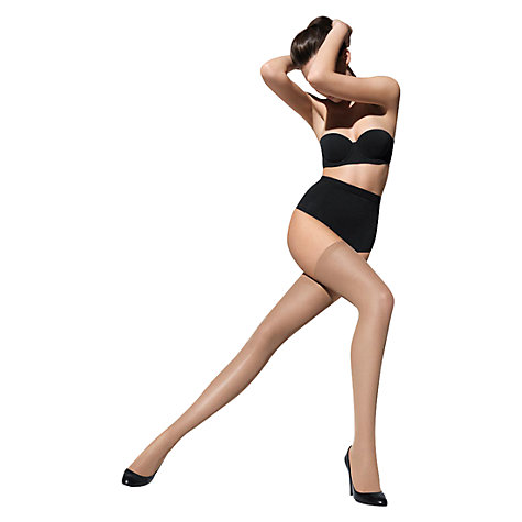 Buy Wolford Fatal 15 Denier Seamless Stay-Up Stockings Online at johnlewis.com