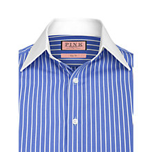 Buy Thomas Pink Armstrong Stripe Shirt, Blue/White Online at johnlewis.com