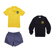 St John's Walham Green CE Primary School Boys Sports Uniform