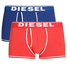 Buy Diesel Fresh & Bright Divine Trunks, Pack of 2 Online at johnlewis.com