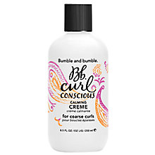 Buy Bumble and bumble Curl Conscious Calming Crème for Coarse Curls Online at johnlewis.com