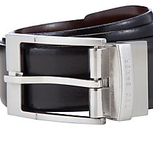 Buy Ted Baker Reversible Belt, Black/Brown Online at johnlewis.com