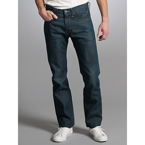 Buy Levi's 504 Straight Taper Jeans Online at johnlewis.com