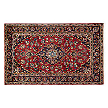 Buy John Lewis Keshan Rug, Red Online at johnlewis.com