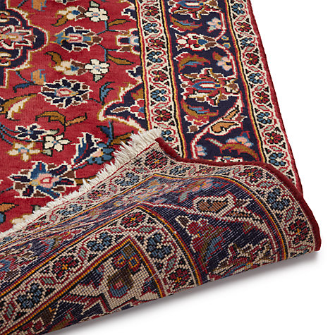 Buy John Lewis Keshan Handmade Rug, Red Online at johnlewis.com