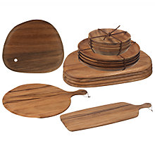 Buy John Lewis Acacia Woodware Online at johnlewis.com