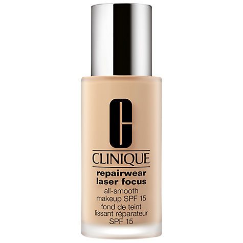 Buy Clinique Repairwear Laser Focus All-Smooth Makeup SPF15 Online at johnlewis.com