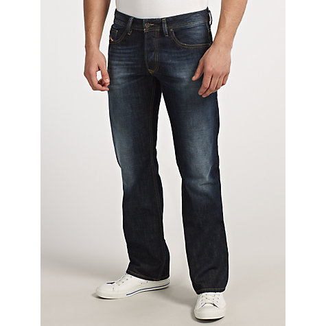 Buy Diesel Larkee 0074W Straight Leg Jeans Online at johnlewis.com
