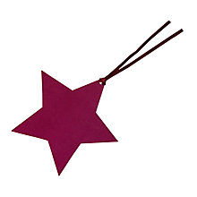 Buy John Lewis Star Gift Tags, Pack Of 5 Online at johnlewis.com