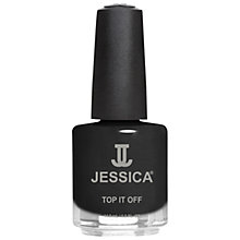Buy Jessica Top It Off Crackle Top Coat, Black Online at johnlewis.com