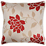 Buy John Lewis Lucia Cushion Cover, Red Online at johnlewis.com