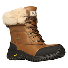 Buy UGG Adirondack II Calf Boots, Otter Online at johnlewis.com