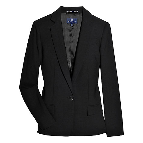 Buy Aquascutum Murton Smart Jacket, Black Online at johnlewis.com