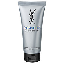 Buy Yves Saint Laurent L'Homme Libre Aftershave Lotion, 100ml Online at johnlewis.com