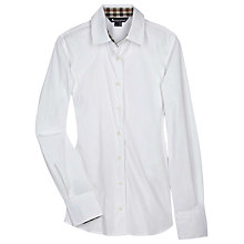 Buy Aquascutum Bowten Blouse, White Online at johnlewis.com