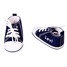 Buy My 1st Years Personalised Trainers, Navy Online at johnlewis.com
