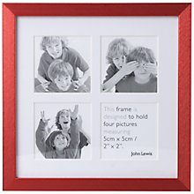 Buy John Lewis Brights Photo Frame, Red Online at johnlewis.com