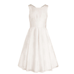 John Lewis Girl Empire Line Lace Dress, Ivory £65-70