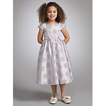 Buy John Lewis Girl Satin Spot Dress Online at johnlewis.com