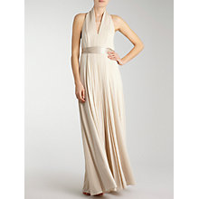 Buy Coast Goddess Maxi Dress, Champagne Online at johnlewis.com