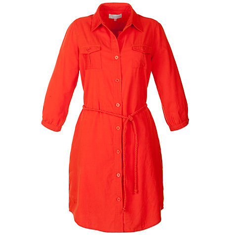 Buy John Lewis Corduroy Shirt Dress Online at johnlewis.com