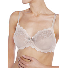 Buy Chantelle Rive Gauche 3-Part Bra, Cappuccino Online at johnlewis.com