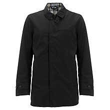 Buy Barbour Bearer Mac, Black Online at johnlewis.com