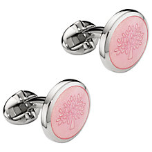 Buy Mulberry Transparent Tree Cufflinks Online at johnlewis.com