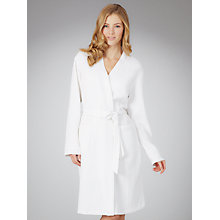 Buy John Lewis Waffle Robe, White Online at johnlewis.com