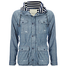 Buy Denim & Supply Ralph Lauren Chambray Jacket, Chambray Online at johnlewis.com