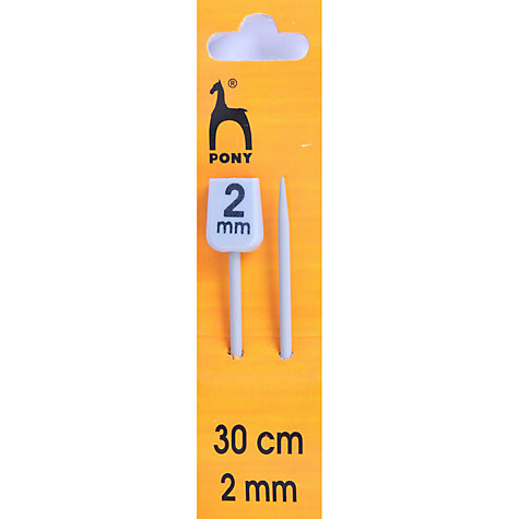Buy Pony 30cm Knitting Needles, Pack of 2, Assorted Widths Online at johnlewis.com