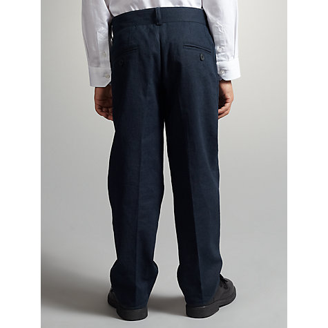 Buy John Lewis Boy Linen Blend Trousers Online at johnlewis.com