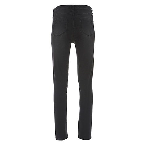 Buy Mint Velvet Skinny Jeans, Black Online at johnlewis.com