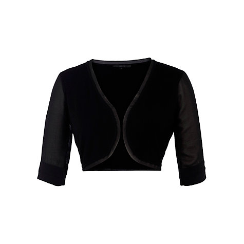Buy Coast Shara Cover Up, Black Online at johnlewis.com