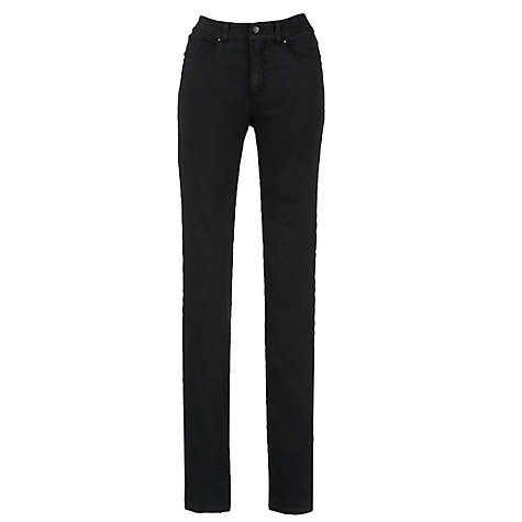 Buy Armani Jeans Skinny High Rise Jeans, Black Online at johnlewis.com