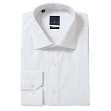 Buy Daniel Hechter Plain Poplin Shirt, White Online at johnlewis.com