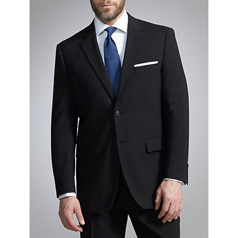 Buy John Lewis Washable Wool Blend Suit, Black Online at johnlewis.com