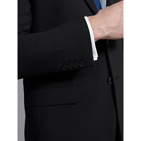 Buy John Lewis Washable Wool Blend Trousers, Black Online at johnlewis.com