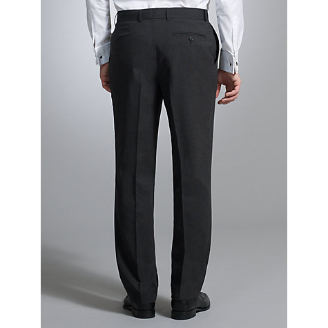 Buy John Lewis Washable Wool Blend Trousers, Charcoal Online at johnlewis.com