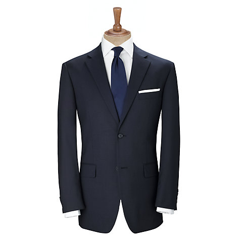 Buy John Lewis Washable Wool Blend Jacket, Navy Online at johnlewis.com