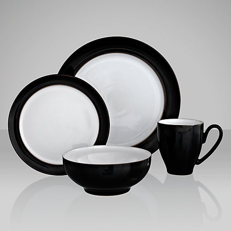 Buy Denby Eclipse Black Tableware Online at johnlewis.com