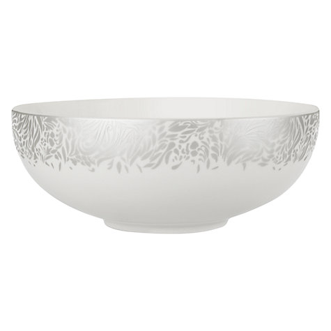 Buy Denby Monsoon Lucille Bowls, Silver Online at johnlewis.com