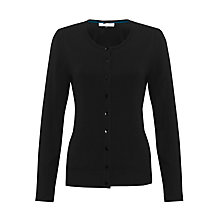 Buy COLLECTION by John Lewis Kira Crew Neck Cardigan, Black Online at johnlewis.com