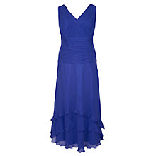 Buy Chesca Flared Dress, Sapphire Online at johnlewis.com